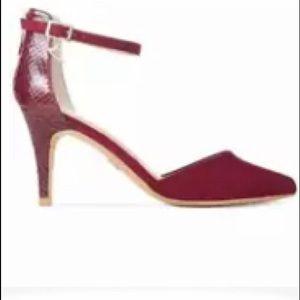 Thalia Sodi Elderberry/Snake heels 👠